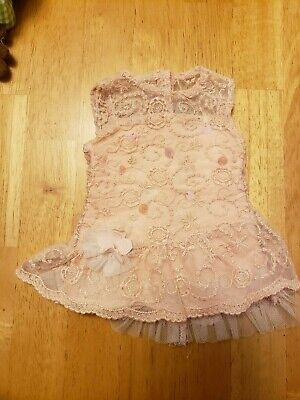 American Girl Shimmer and Lace Dress