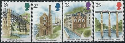 Mint 1989 Gb Industrial Archaeology Stamp Set Of 4  Muh Stamps