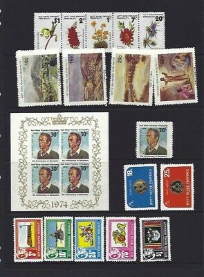 Mint Hutt River Stamp Collection X 29 Birds,Xmas,Flowers,Anniv,Jubilee