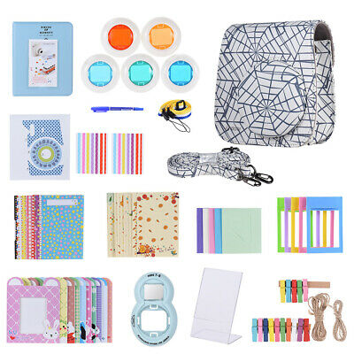 Andoer 14 in 1 Accessories Bundle for Fujifilm Instax Mini 8/8+/8s/9 with S4T3