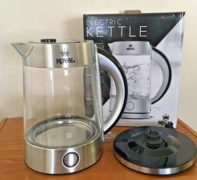 Royal Glass  Electric Kettle  1.7Liter.