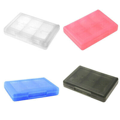 1X(28 in 1 Game Card Case Holder Cartridge Box for Nintendo DS 3DS XL LL DS X7A8