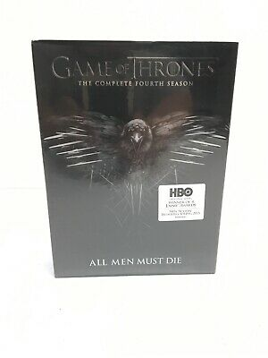 Game of Thrones: The Complete Fourth 4th Season (DVD, 2015, 5-Disc Set) ~ NEW