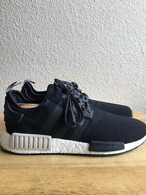 0a569a8e552d0 Adidas NMD R1 Nomad Core Black Sand Brand New Men Size 11.5 (S76847) Pre