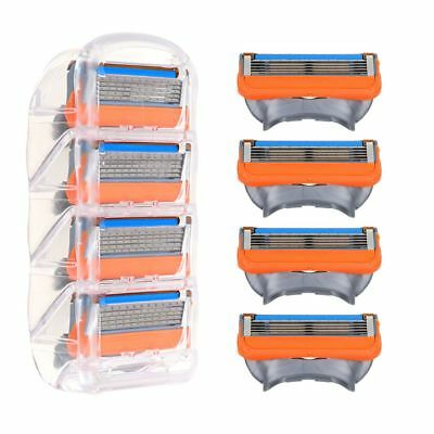 5 Blade Razor Shaving Razor Cartridge Blades Sets For Gillette Fusion ProGlide