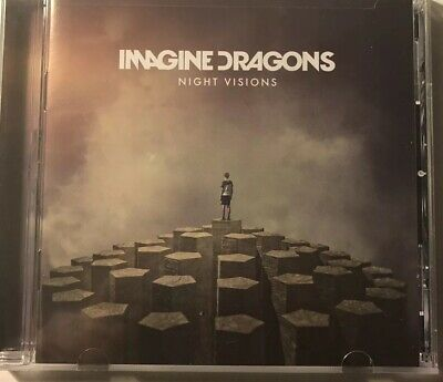 Night Visions [Deluxe] by Imagine Dragons (CD, Feb-2013, Interscope Very Good