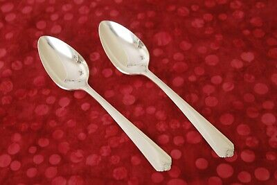 TEMPO Stoneleigh 1881 Rogers silverplate 3 FIVE O'CLOCK TEASPOONS 5 1/8""