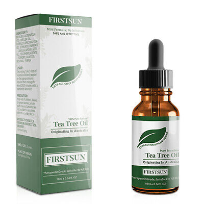 Firstsun Pure Tea Tree Essential Oil For Acne Treatment Anti-Wrinkle Grease V1N2