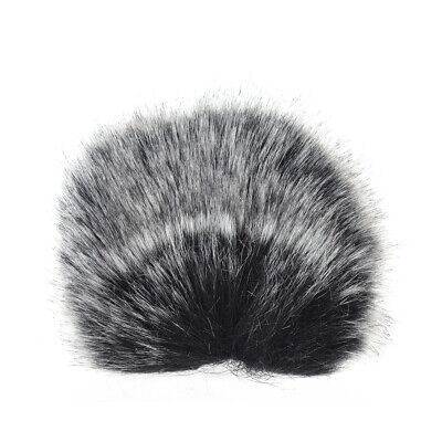 S Size Microphone Mic Furry Windscreen Windshield Cover Muff for SHENGGU DS F4X1