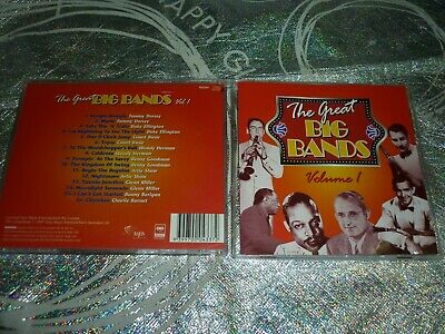 The Great Big Bands - Volume 1  Various Artists (Cd, 16 Tracks, 1997) (142242Aa)
