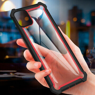 For iPhone 11 XS Max XR 7 8 Plus Hybrid Rubber 360 Heavy Duty Armor Case Cover