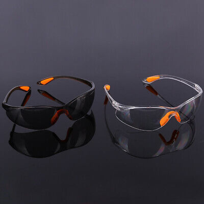 Clear Anti-impact Goggles Factory Lab Outdoor Work Safety Eye Protective Glasses