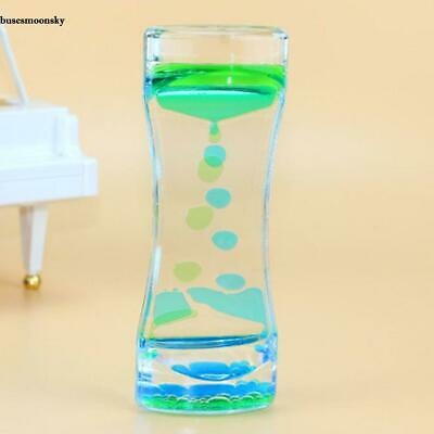 Oil Calming Floating Color Mix Illusion Timer Liquid Motion Visual Desk BMKY 01