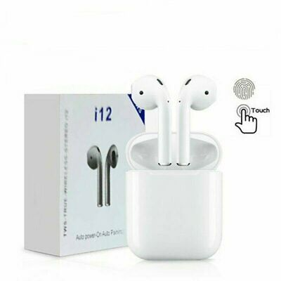 New Premium I12 TWS Wireless Bluetooth Earbuds Earphone For Apple Airpods Style