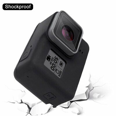 PULUZ Camera Silicone Protective Case with Lens Cover for Gopro Hero 5 Black OK