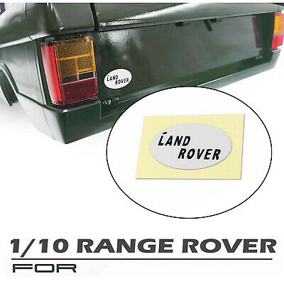 Rear Logo Badge Decal Decoration Spare Parts For 1/10 CChand Range Rover RC Car
