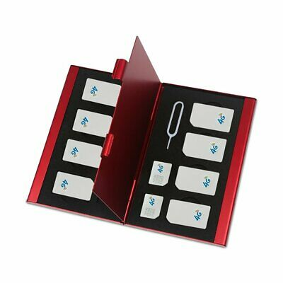 Stainless Steel Single-Layer Double-Layer Sd Card Sim Card Box K5