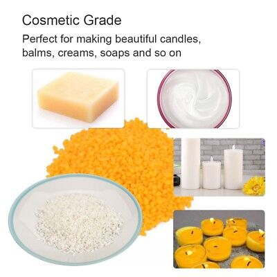 100g Natural Pure Organic Beeswax Pellets Cosmetic Grade Beeswax Beads 2 Colors