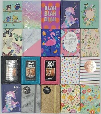 2020 Diary Pocket Size Week to View 2020 Diaries Full Year POCKET