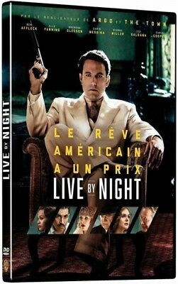 Live by Night DVD New Blister Pack