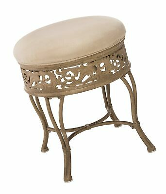 Pleasing Hillsdale Villa Iii Vanity Stool Antique Beige 83 65 Caraccident5 Cool Chair Designs And Ideas Caraccident5Info