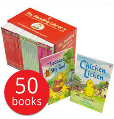 My Usborne Reading Library Beginners Collection - 50 Books