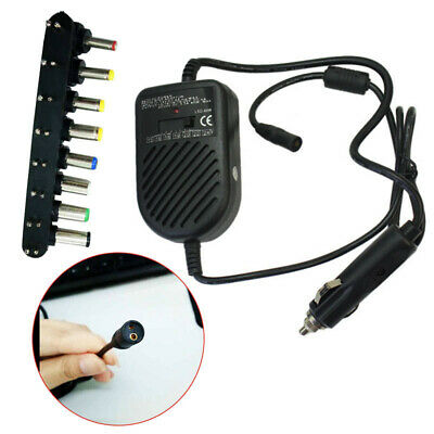 80W 12V Universal Car Power Supply Charger Adapter For Laptop Notebook H QNL
