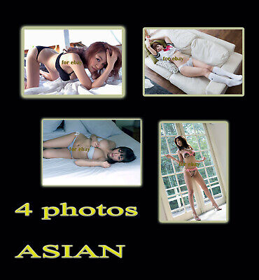 4 PHOTOS ASIAN NO NUDE  #14#  COULEURS - 10x15cm