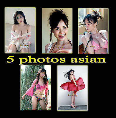 5 PHOTOS ASIAN NO NUDE  #15#  COULEURS - 10x15cm