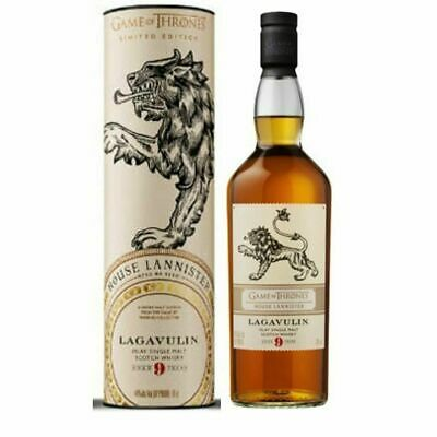 ** Game of Thrones Lagavulin 9yr Old - House Lannister Single Malt Whisky 700ml