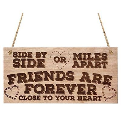Side By Side Or Miles Apart Friends Are Forever Close To Your Heart Love Fr V7D4