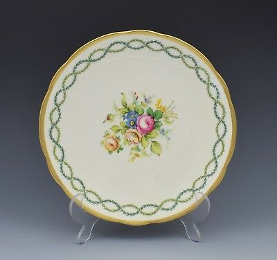 Pretty Antique Edwardian Minton Cabinet Dessert Plate