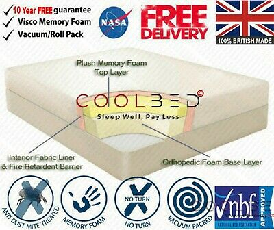 !!!Brand New Memory Foam Mattress Available in 3ft,4ft,4ft6,5ft FREE DELIVERY!!