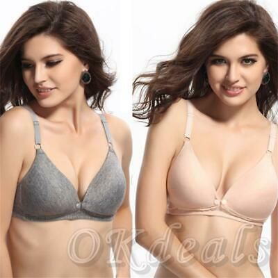 New Underwear Women Maternity Nursing Bras Front Buckle Pregnant Breast Feeding