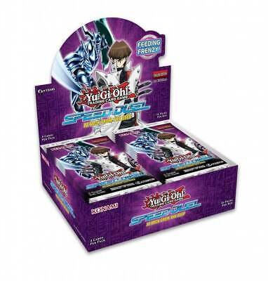 YU-GI-OH! - TCG - Speed Duel: Attack from the Deep 4 x card Booster Box PREORDER