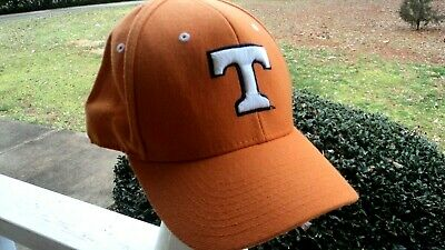 info for ea970 ce434 Tennessee Volunteers Vols hat cap Zephyr Fitted 7 1 2 NCAA Orange GREAT  SHAPE