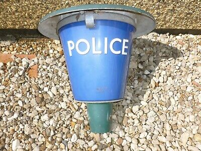 Antique 1950'S Police Station Lamp