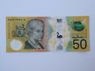 Australian $50 new note - Uncirculated Condition - BE181157513 Spelling Mistake