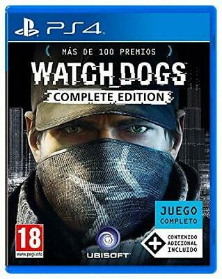 Watch Dogs - Complete Edition PS4 (Sony PlayStation 4) - Brand New - Region Free