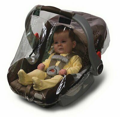 Jolly Jumper WeatherShield Rain Protection See Through Cover Infant Car Seat