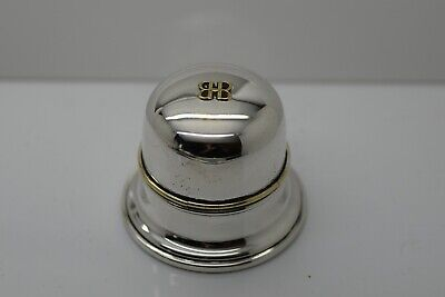 Silver Plate Birks Ring Case