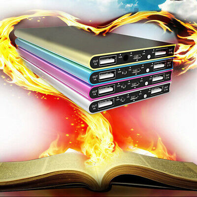 Ultra Thin 20000mAh Portable External Battery Charger Power Bank for Cell JJU RU