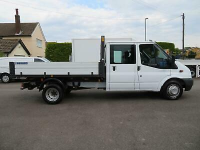 2014/63 Ford Transit T350/125bhp 2.2TDCI Double Cab Tipper