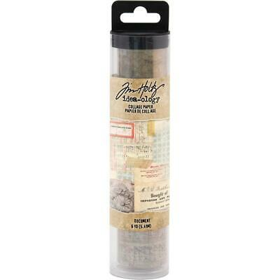 Tim Holtz Idea-Ology Collage Paper - Document - 6yd Roll