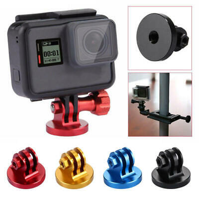 PULUZ CNC Camcorder Tripod Mount Adapter For GoPro HERO 6 5 4 3/ 3 2 1 Hot