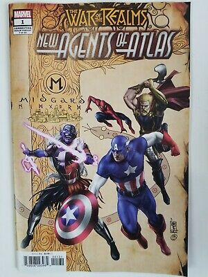 War of the Realms New Agents of Atlas #1 Connecting Cover Variant