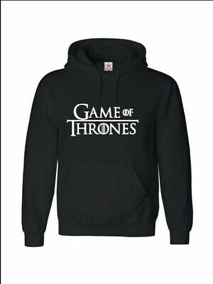 Game of Thrones Hoodie Jon Snow Targaryen dragon Tv show various sizes
