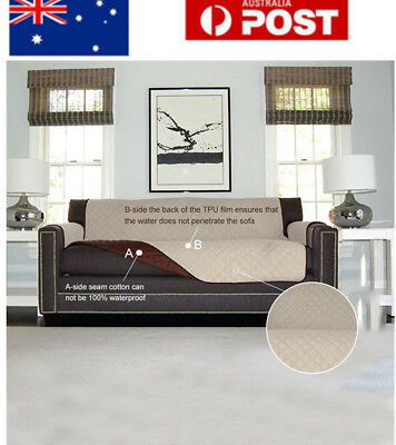 Waterproof 1 2 3 Seater Couch Stretch Sofa Seat Lounge Protector Cover Slipcover
