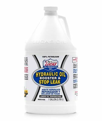 Lucas Oil 10018   Hydraulic Oil Booster/Stop Leak Gallon