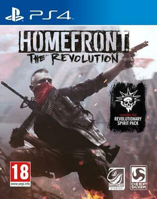 Homefront The Revolution PS4 (Sony PlayStation 4, 2016) Brand New - Region Free